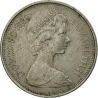Monnaie, Grande-Bretagne, Elizabeth II, 5 New Pence, 1969, TB, Copper-nickel - 1971-… : Monnaies Décimales