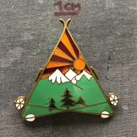 Badge Pin ZN007329 - Military (Army) Skiing Unit (Troops) Kingdom Yugoslavia - Army