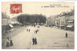 SAINT CERE - Place De La République - Saint-Céré