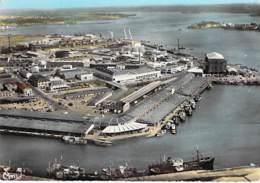 56 - LORIENT : Le Port De Pêche - Vue Aérienne - Jolie CPSM Dentelée Colorisée Grand Format - Morbihan - Lorient