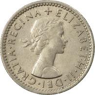 Monnaie, Grande-Bretagne, Elizabeth II, 6 Pence, 1958, SUP, Copper-nickel - 1902-1971 : Monnaies Post-Victoriennes