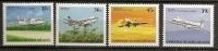 Marshall 1989 N° PA 17 / 20 ** Avion, Appareils En Vol, Dornier Do 228, Boeing 737, HS 748, Boeing 727, Air Nauru - Marshall