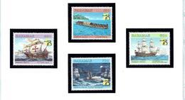 Bahamas 935-38 MNH 1999 Maritime History (Ships) - Bahamas (...-1973)