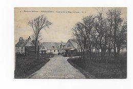 CPA29 Env De Brest PONTANEZEN Caserne Du 6ème Régiment Colonial Précurseur - Other Municipalities