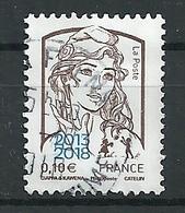 FRANCIA 2018 - Marianne De Ciappa Sobrecargada - Cachet Rond - Frankreich