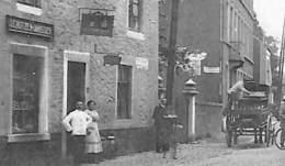 Aubel - Rue De La Gare (animée, Café J. Crutzen-Janssen, Brasseur) - Aubel