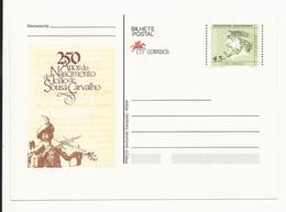 Postal Stationery * Portugal * Navegadores Portugueses * 250 Anos Do Nascimento De João De Sousa Carvalho - Postal Stationery
