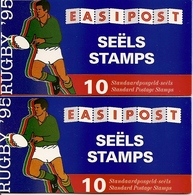 SOUTH AFRICA, 1995, Booklet 30/31,  Rugby Booklets - Carnets
