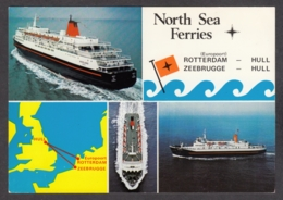 95881/ NAVIRES A PASSAGERS, Ferries, MV *Norland* Et MV *Norwind*, North Sea Ferries - Ferries