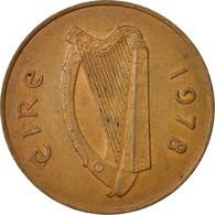 Monnaie, IRELAND REPUBLIC, 2 Pence, 1978, TB+, Bronze, KM:21 - Irlande