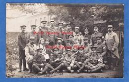 CPA Photo - à Situer - Portrait De Poilu Français Et Britannique - 35e Régiment - Medical Corps British Army BEF WW1 - Guerre 1914-18