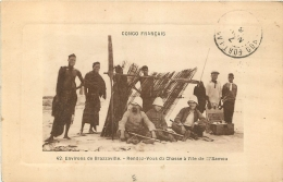 CONGO  FRANCAIS   RENDEZ VOUS DE CHASSE A L'ILE DE M'BAMOU ENVIRONS DE BRAZZAVILLE - Französisch-Kongo - Sonstige