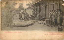 CONGO  FRANCAIS CAOUTCHOUC A VENDRE - Französisch-Kongo - Sonstige