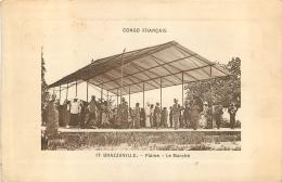 CONGO  FRANCAIS  BRAZZAVILLE  PLAINE LE MARCHE - Französisch-Kongo - Sonstige