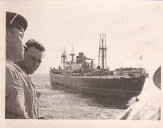 """8 Photos Prises En Mer  Lors De """"l'affaire De Suez"""" (Chypre Egypte) En 1956 - Guerre, Militaire"""