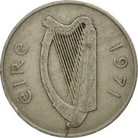 Monnaie, IRELAND REPUBLIC, 10 Pence, 1971, TB+, Copper-nickel, KM:23 - Irlande