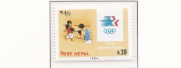 Nepal 1984 Los Angeles Olympic Games  MNH/**  (M12) - Summer 1984: Los Angeles
