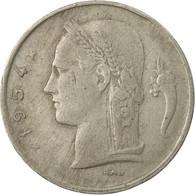 Monnaie, Belgique, Franc, 1954, TB, Copper-nickel, KM:142.1 - 1951-1993: Baudouin I