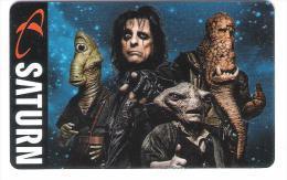 Germany - Saturn - Alice Cooper - Carte Cadeau - Carta Regalo - Gift Card - Geschenkkarte - Gift Cards