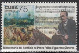 CUBA 2018  Pedro Felipe Figueredo Cisneros - Cuba