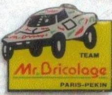 PARIS - PEKIN - TEAM - Mr Bricolage - Rallye
