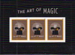 USA , 2018, MNH,  ART, MAGIC, RABBITS,LENTICULAR S/SHEET - Art