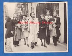 Photo Ancienne Snapshot - TOULOUSE - Portrait De Rue D' étudiant En Droit - 1941 - Faluche Garçon Boy Girl Mode Fille - Professions