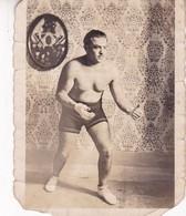 LUCHADOR BOXEADOR BOX LUTTEUR FIGHTER VINTAGE PHOTO ORIGINAL SIZE 7x9cm CIRCA 1910s- BLEUP - Anonymous Persons