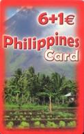 TARJETA TELEFONICA DE ESPAÑA, (PREPAGO). PHILIPPINES CARD, 6+1E. (661) - Spain