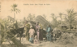 GABES FAMILLE ARABE DANS L'OASIS - Tunisia