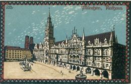 München Rathaus Künstler Carl Kunst - Muenchen