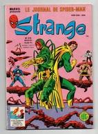 Strange N°215 La Division Alpha - L'araignée - Les Défenseurs - Les Robots De L'espace - La Météo Va Utiliser Le Laser - Strange