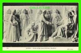 QUÉBEC - STATUE DE MGR LAVAL (1658-1688), BAS RELIEF - ND PHOT. - - Québec - La Cité