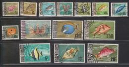 TANZANIA Scott # Between 19 & 34 Used - Fish - Not Full Set - Tanzania (1964-...)