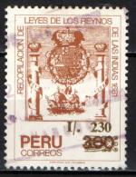 PERU' - 1989 - CODICI DEI RE INDIANI - USATO - Peru