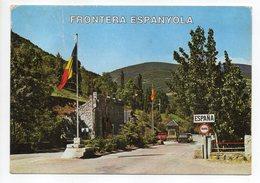 Andorre --Valls D'Andorra -- Frontière  (voitures)  --carte Toilée - Andorre