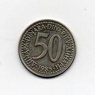 Jugoslavia - 1985 - 50 Dinara - Vedi Foto - (MW1590) - Jugoslavia