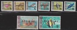 TANZANIA Scott # O9-16 MNH - Official Overprint - Tanzania (1964-...)