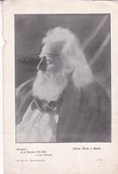 CARLOS GUIDO Y SPANO. LAMINA REVISTA EL SOL SIZE 27x18cm CIRCA 1900s SHEET PLANCHE- BLEUP - Plakate