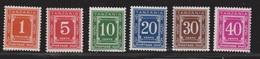 TANZANIA Scott # J1a-6a MNH - Postage Dues - Tanzania (1964-...)