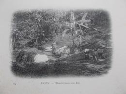 BAHIA (BRÉSIL  AMÉRIQUE DU SUD ) CPA BLANCHISSEUSES  SOUS BOIS  Vers 1900 - Brésil