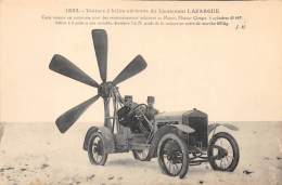 Transport . N° 46601 . Voiture A Helice Du Lieutenant Lafargue - Cartes Postales