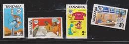 TANZANIA Scott # 54-7 MNH - Telecommunications - Tanzanie (1964-...)