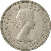 Monnaie, Grande-Bretagne, Elizabeth II, Shilling, 1957, TTB, Copper-nickel - 1902-1971 : Monnaies Post-Victoriennes