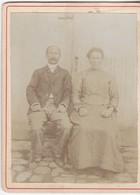 Couple  à Identifier  -photo :  L. Garnier à Laferté S\ Amance - Fotos