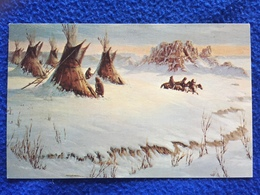 Badlands Camp, (from Painting Of Ted Long) - Etats-Unis