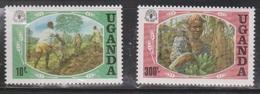 UGANDA Scott # 393-4 MNH - World Food Day - Uganda (1962-...)