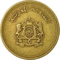 Monnaie, Maroc, Al-Hassan II, 20 Santimat, 1987/AH1407, Paris, TB - Maroc