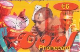 TARJETA TELEFONICA DE ESPAÑA, (PREPAGO). COOL PHONECARD. 6E. PRE-VIV-0005. (668) - Spain