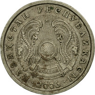 Monnaie, Kazakhstan, 20 Tenge, 2006, Kazakhstan Mint, TB+, Copper-Nickel-Zinc - Kazakhstan